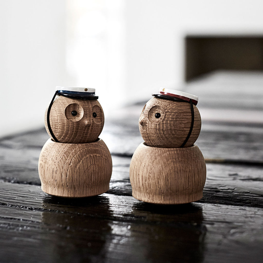 Image of   Andersen Furniture - Blå Studenterhue - Small owl