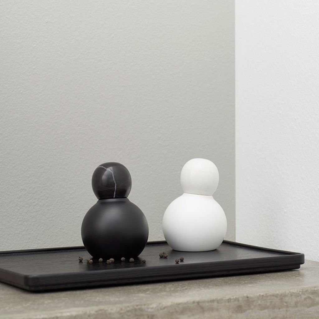 Andersen Furniture - Boogie Salt & Peber mill - Sort - H12cm