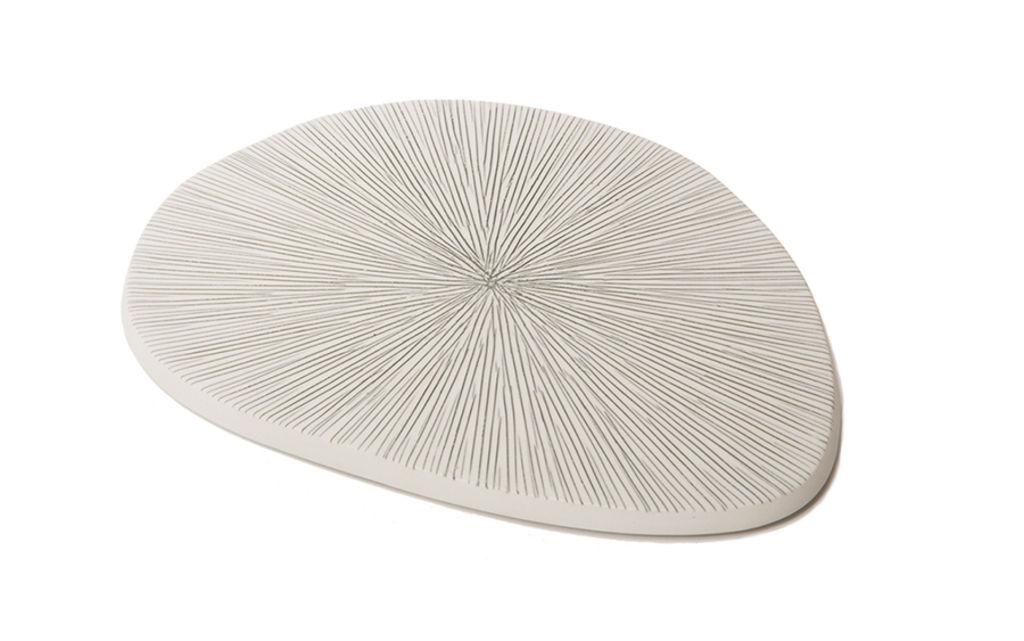 Image of   Lindform - Plate - grå