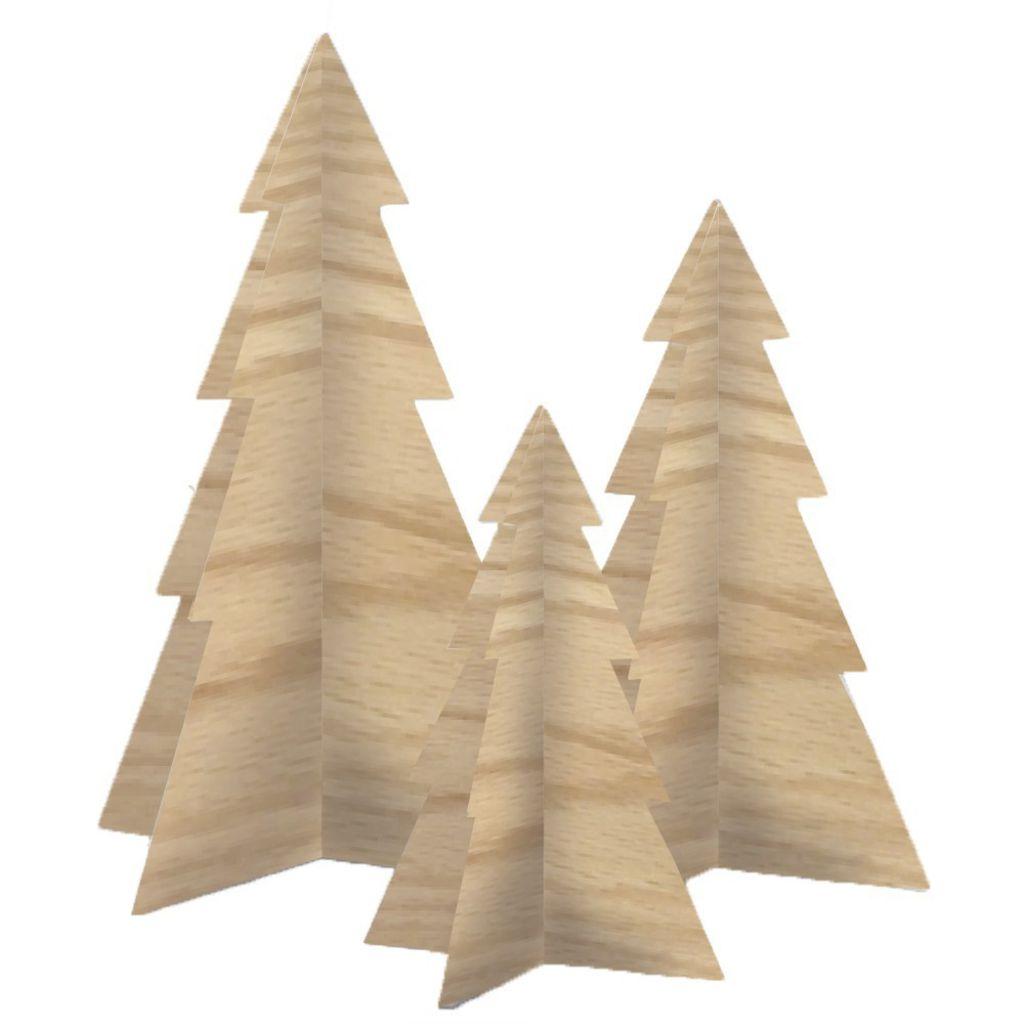 Billede af Felius - Juletræer - Egetræ - 3 stk.