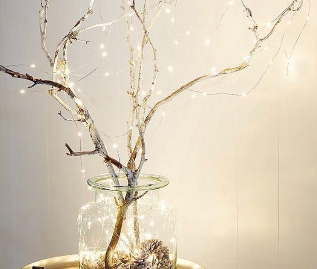 Image of   Tivolilys - Lyskæde - Stringlight sølv 100LED