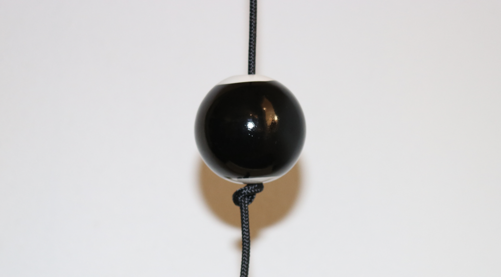 Image of   Nordic by hand - SNOREN - Earth - ceramic ball dia: 60mm black