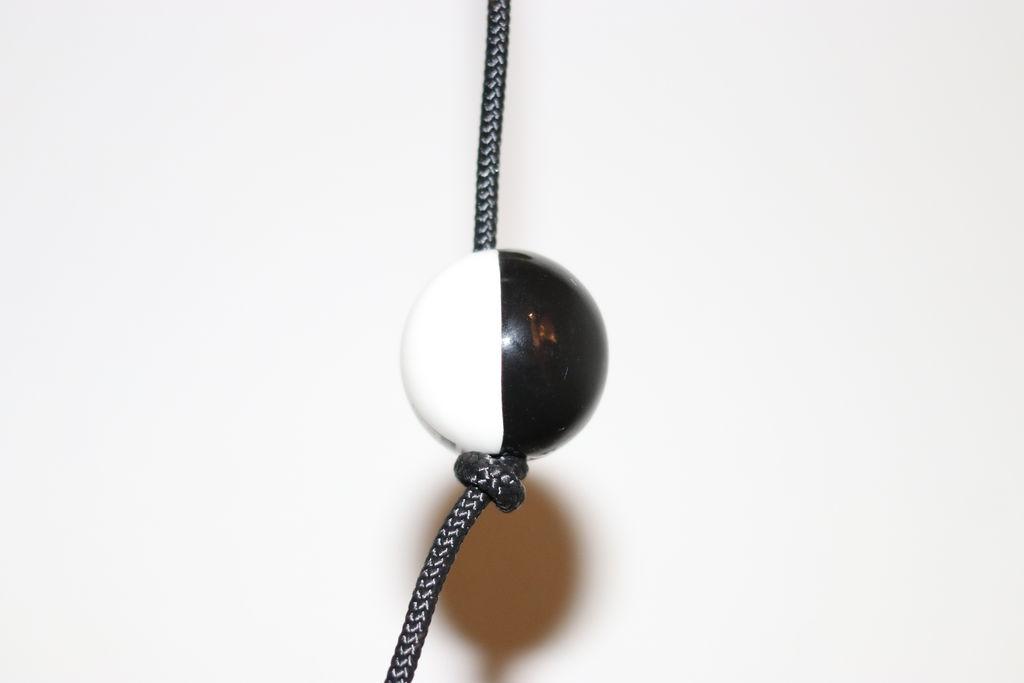 Billede af Nordic by hand - SNOREN - Moon - ceramic ball dia: 35 mm black