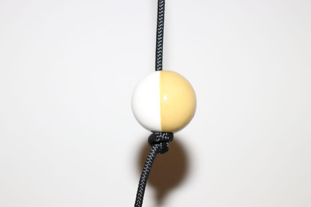 Image of   Nordic by hand - SNOREN - Moon - ceramic ball dia: 35 mm golden