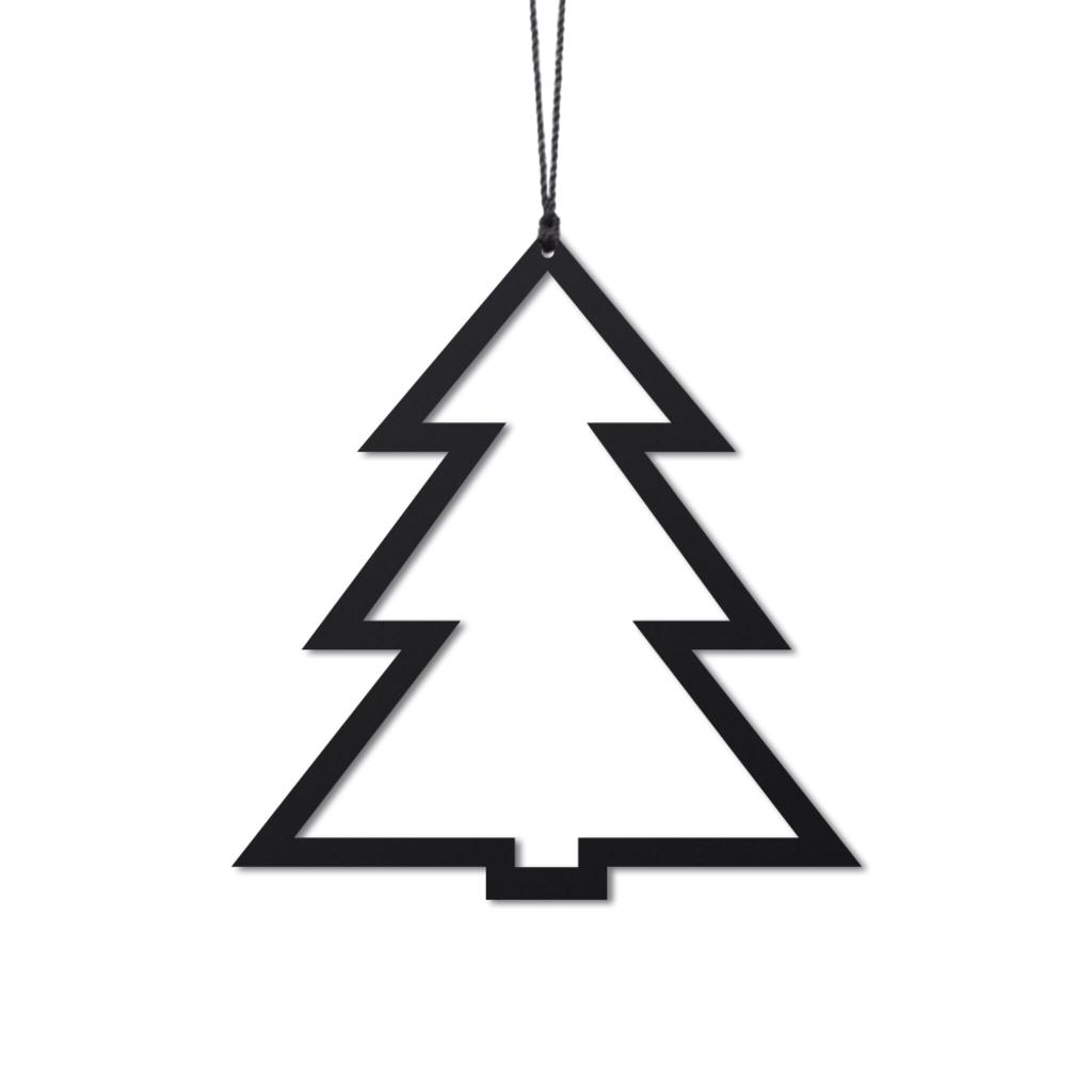 Billede af Felius - Juletræ - sort - 2 stk.